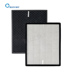 Air Purifier Customized Panel Honeycomb Activated Carbon Filter and HEPA Filter Replacement