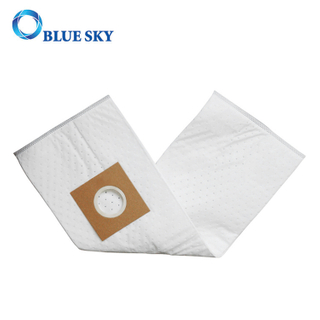 Vacuum Cleaner Custom White Non-Woven Fabric HEPA Filter Dust Bag