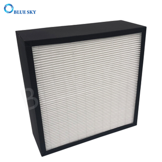 Customized Glassfiber Air Purifier Replacement H13 True HEPA Filters