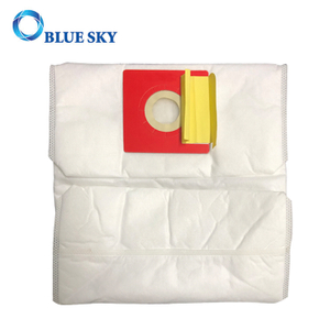 White Non-Woven Cube H11 HEPA Filter Dust Bags for Household Vacuum Cleaner