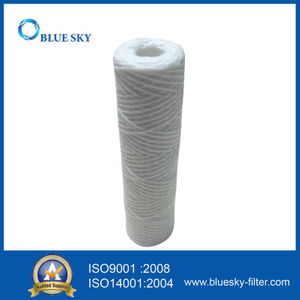 "10""X 2.5"" Wound String Sediment Water Cartridge Filters 1micron - 20micron"
