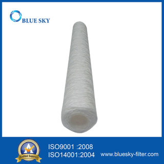 10 Micron PP String Wound Water Cartridge Filter for Long 20 Inch