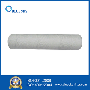 10 Inch 1 Micron PP String Wound Water Cartridge Filter