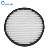 Customized Pleated Glassfiber Round HEPA Air Filters for LG Air Purifiers