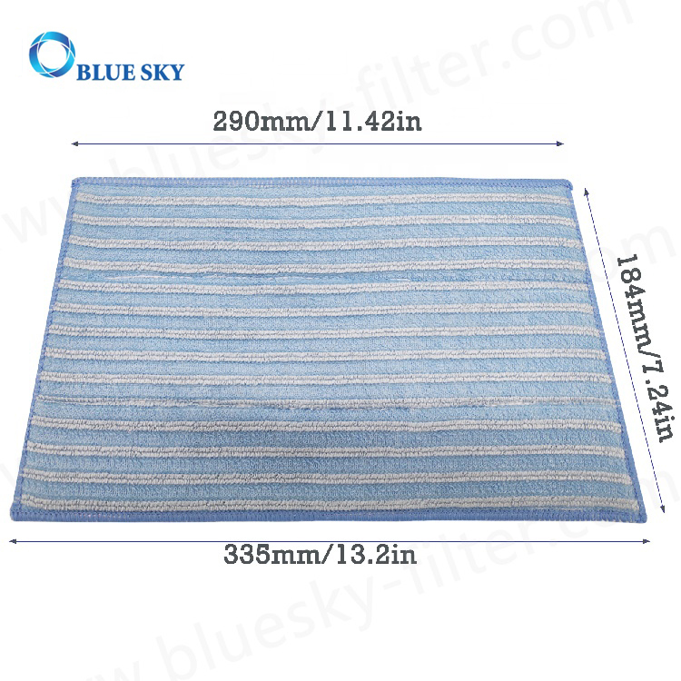 Microfiber Cleaning Steam Mop Pads Vacuum Cleaner Mop Pads Replacement Part # RMF4X RMF2X