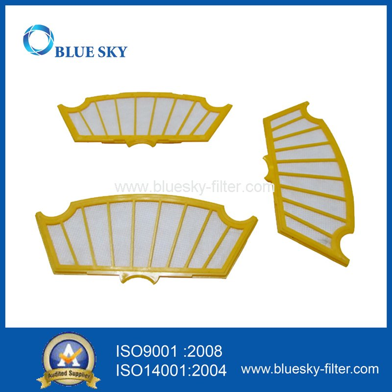 Yellow Filters for Irobot Roomba 500 Series Robot Vacuum