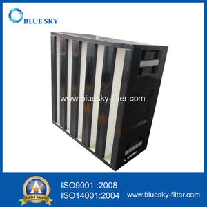 V-Bank HEPA Air Filter for Rigid Box HVAC System