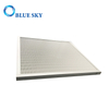 Custom Deep Pleated Aluminum Frame Panel HEPA HVAC Filter