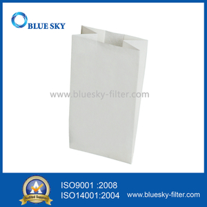 White Paper Dust Filter Bag for Minuteman Vacuum Cleaner
