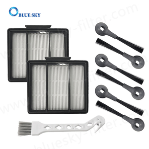 HEPA Filters Side Brush for Shark R101AE RV1001AE Robot Vacuum Cleaner Accessories