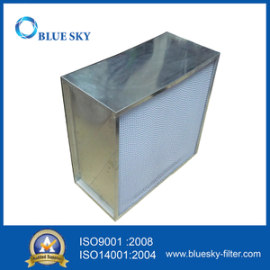 605*605*292mm H13 HEPA Box HVAC Air Filter