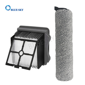 Replacement Brush Roller and Filters for Tineco Ifloor 3/ Ifloor One S3 Vacuum Cleaners