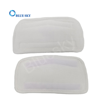 Washable Microfiber Cleaning Steam Mop Pads for Secura EM-516 Vacuum Cleaner Mop Parts