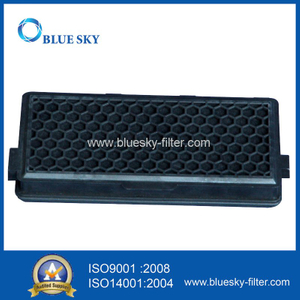 Black Active Carbon with Glass Fiber Filter for Vacuum Cleaner