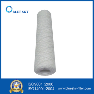 10 Inch 100 Micron PP String Wound Water Cartridge Filter