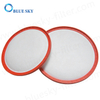Replacement Round Foam Pre Filters for Dirt Devil 5510001 Vacuum Cleaners
