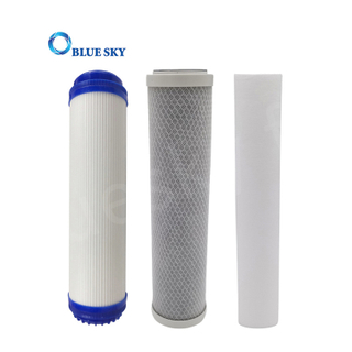10Inch Activated Carbon Filter Cartridge PP Melt Blown Water Filter Cartridge for CTO Water Purifier Filter