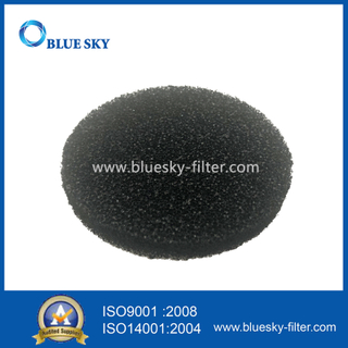 Customized Round Black Carbon Sponge HEPA Filters for Air Purifier and Vacuum Cleaner