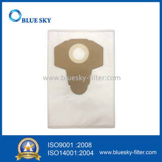 White Non-Woven Dust Filter Bag for Parkside Vacuum Cleaner