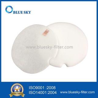 White Foam Felt Filter for Shark Np320 Vacuums Replace Part # XFF318