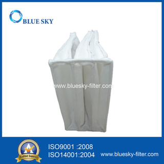 Customized Non-woven HVAC Pocket Filter Bag 305*610*570mm