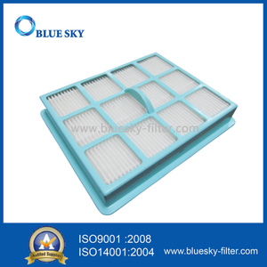 Blue HEPA Filter Replacements for Philips FC8520 Vacuum Cleaner