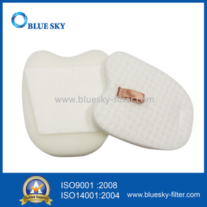 White Foam Filters for Shark HV345 Vacuum Cleaner Replace Part XPFK320