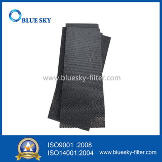 Black Paper Fiber Frame Carbon Dust Panel Porous HEPA Filters for Air Purifier