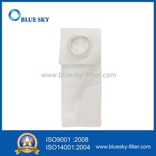 White Non-Woven Universal Exhaust HEPA Vacuum Dust Filter Bag