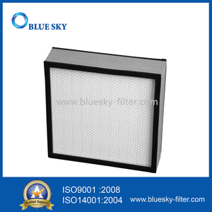 305X305X70mm Aluminum Frame H14 HEPA Panel Filters for HVAC System