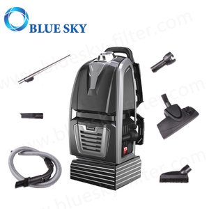 Customized Cordless Bagged Big Power HEPA Filter Rechargeable Jb61-B Backpack Vacuum Cleaner with Blow Function