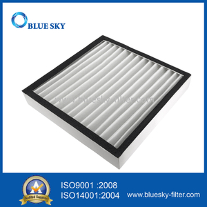 293X293X50mm White Paper Frame Cotton Air Purifier Filters