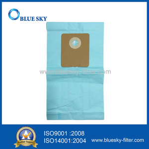 Blue Paper Dust Filter Bag for Minuteman Vacuum Cleaner