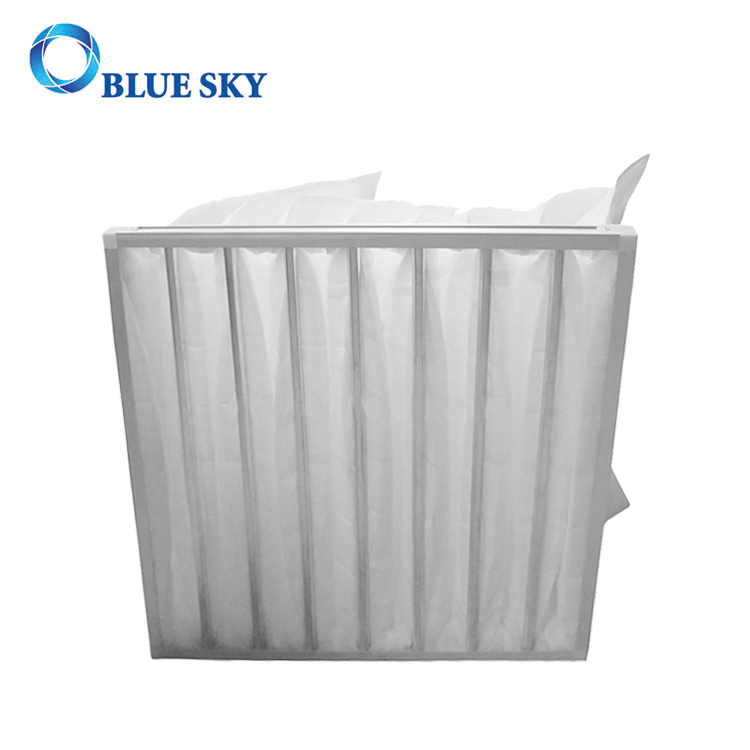 295*592*380mm Synthetic Fiber Pocket G4 Air Filter Bags
