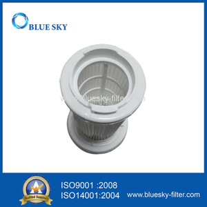 White Small Cylinder Filter for Vacuum Cleaner