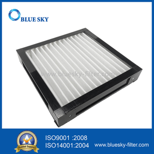 290x290x50mm Customized Plastic Frame Cotton Air Purifier Filters