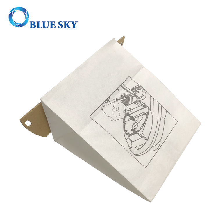 White Paper Dust Filter Bag for Eureka CN-1 61980A Vacuum Cleaner