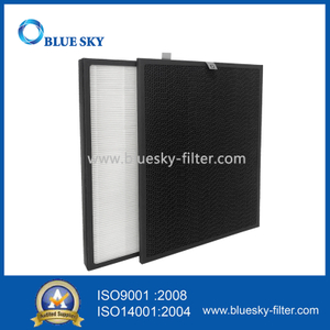 Customized Panel Activated Carbon True HEPA Air Purifier Filter Replacements