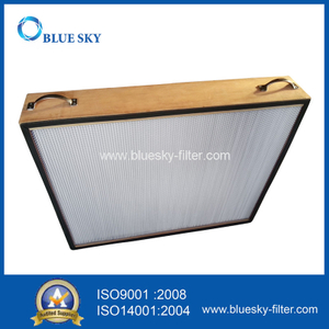 920X770X150mm Wooden Frame H13 HEPA HVAC Filters